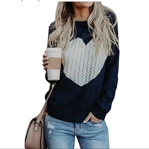 """Sweaters - """" Adeline """" , on trend Comfy ❤️ Sweater"""